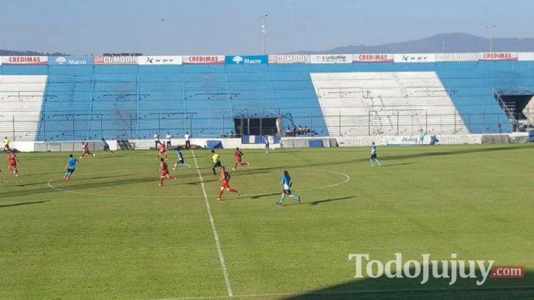 Gimnasia de Jujuy venció a Ñuñorco de Tucumán en el 23 de Agosto