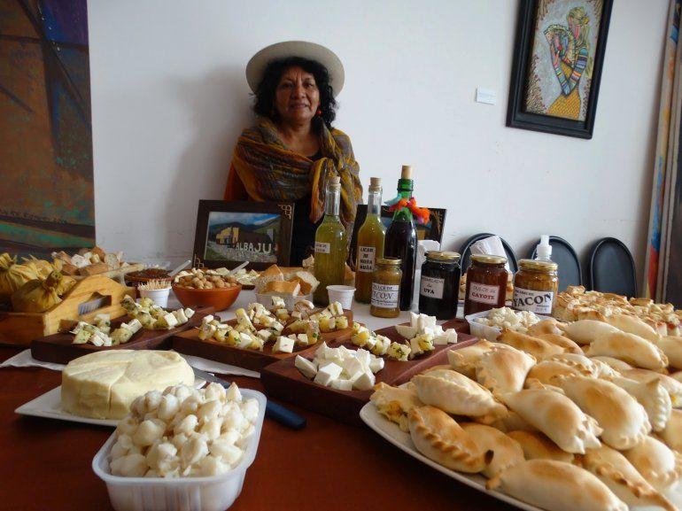 Escabeches, mermeladas y licores para la Feria del Yacón