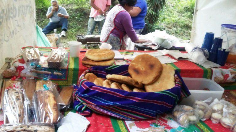 Bollos, tortillas y mate para una nueva edición del pan casero