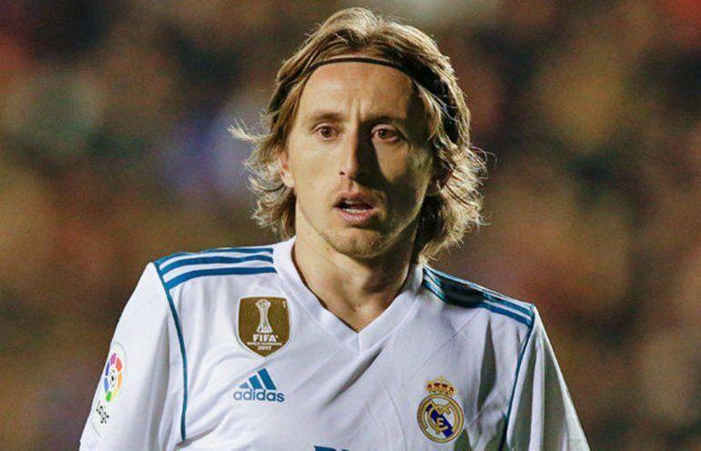 Luka Modric saludó a Macri y además le mandó una camiseta