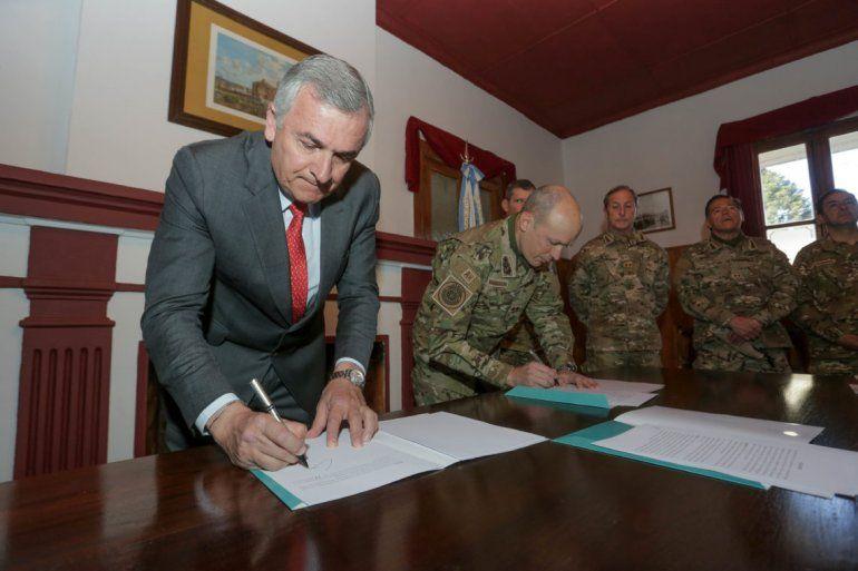 El Gobierno acordó con el Ejército la cesión de tierras en Alto Padilla para construir viviendas