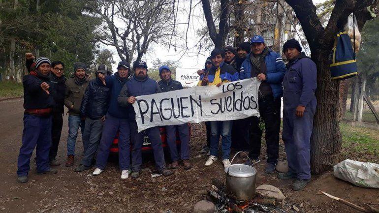 Trabajadores de Exincor siguen de paro y marcharon por Palpalá