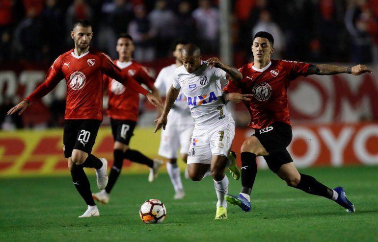 Sánchez ante Independiente