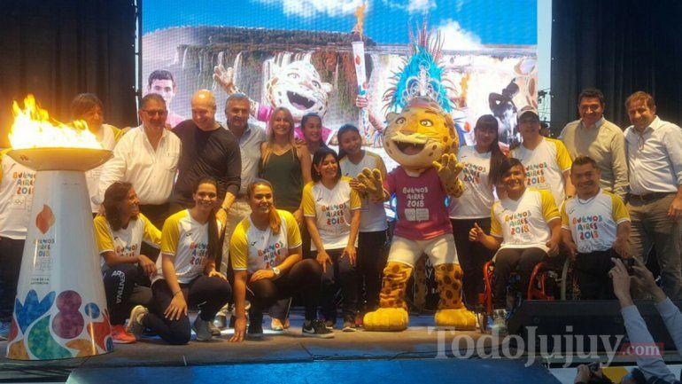 Histórico: la Antorcha Olímpica recorrió San Salvador de Jujuy