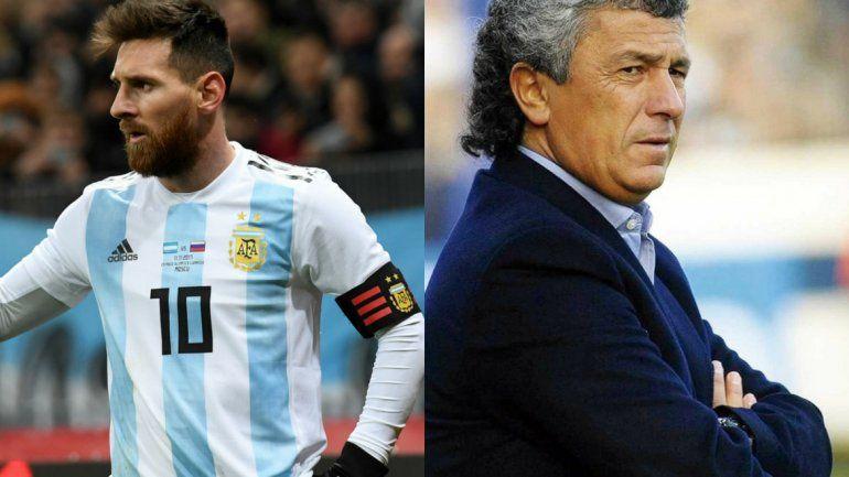Si Messi fuera mi hijo le diría que no vaya más a la Selección y que se mueran todos