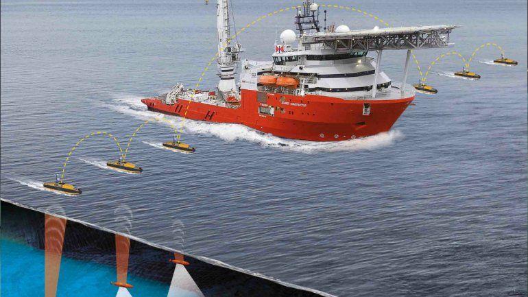 El barco más avanzado del mundo que buscará al submarino ARA San Juan está en camino
