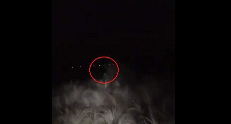 ¡Increíble! Un hombre habría filmado a un extraterrestre en un campo de Córdoba