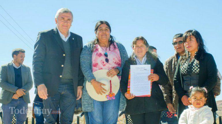 Histórico: Comunidad indígena de Casira obtiene título de propiedad comunitaria