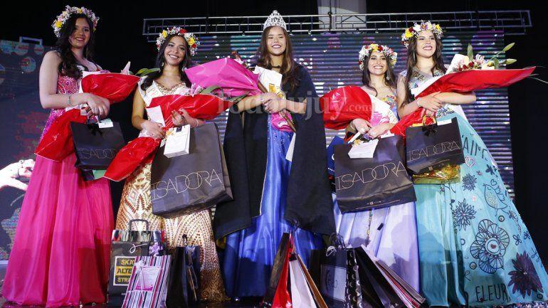 Anita Herrera es la nueva reina del departamento Palpalá