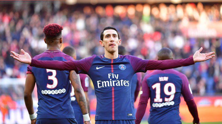 El fantástico gol olímpico de Ángel Di María en el Paris Saint Germain