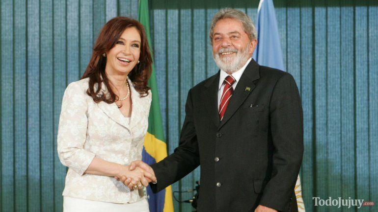 Cristina Kirchner indignada con la impugnación de la candidatura de Lula en Brasil