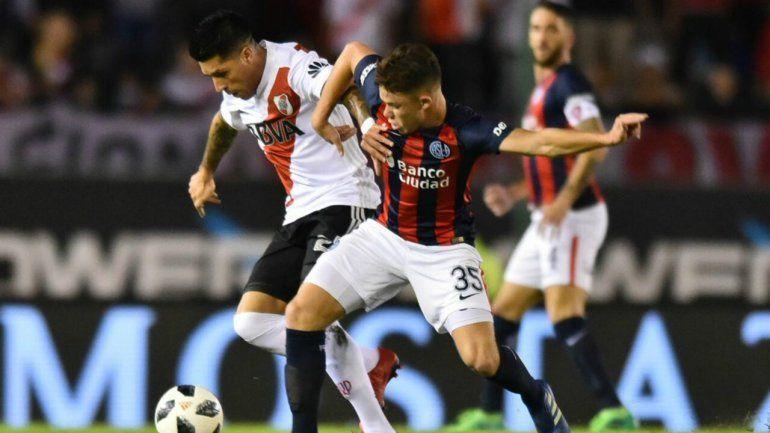 San Lorenzo y River empataron en un clásico muy intenso