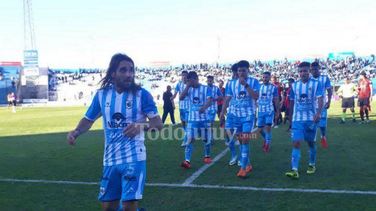 Empate en 0 entre Gimnasia y Esgrima de Jujuy y Defensores de Belgrano