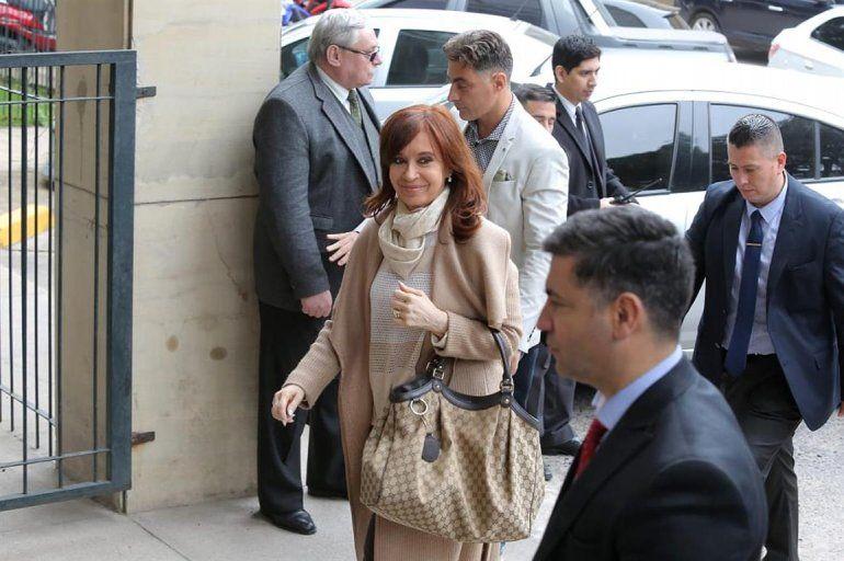 Cristina en Tribunales