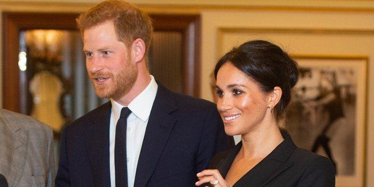 Meghan Markle se salió del protocolo e hizo sonrojar al príncipe Harry