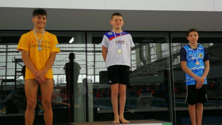Saltos Ornamentales: SantiagoFerrari se colgó tres medallas
