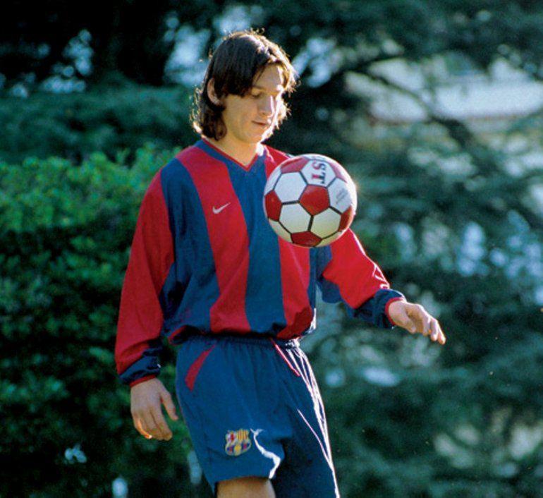 Mirá las fotos inéditas de Messi que se volvieron viral