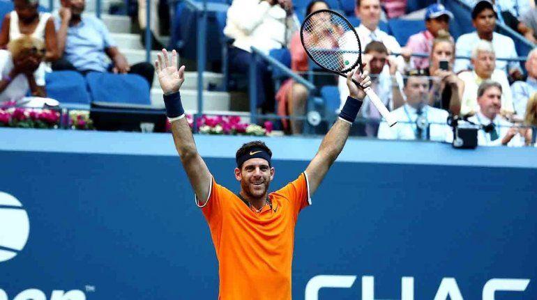 Juan Martin Del Potro es semifinalista del US Open
