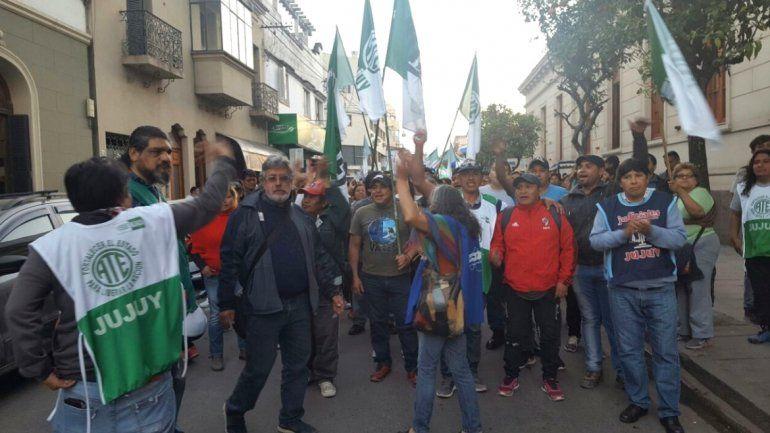 ATE celebró el pase a planta permanente de los empleados públicos