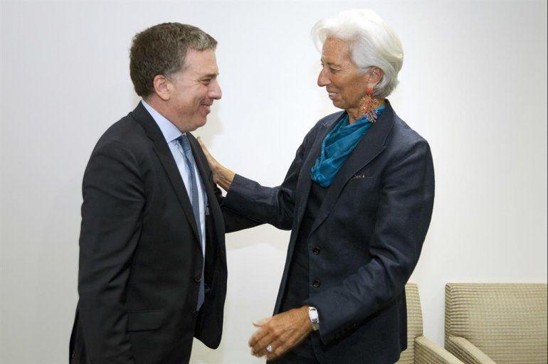Dujovne y Lagarde destacaron los avances en busca de un nuevo acuerdo con el FMI