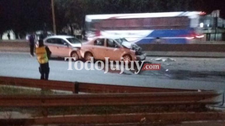 Múltiple choque en la avenida Savio termina con diez heridos, uno de gravedad