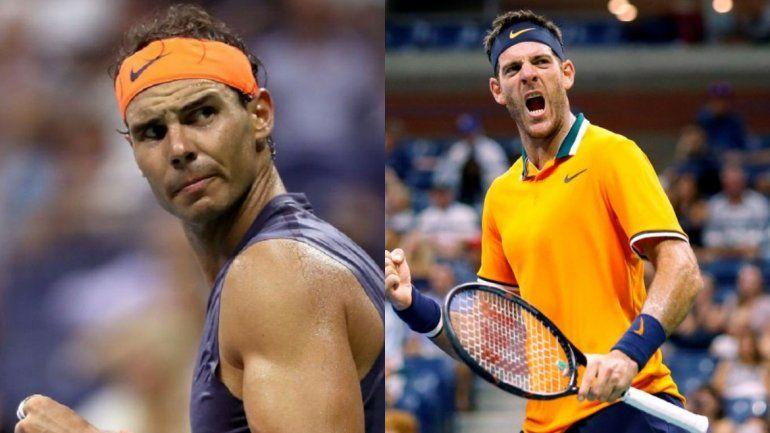 Cuándo se juega la semifinal entre Del Potro y Nadal