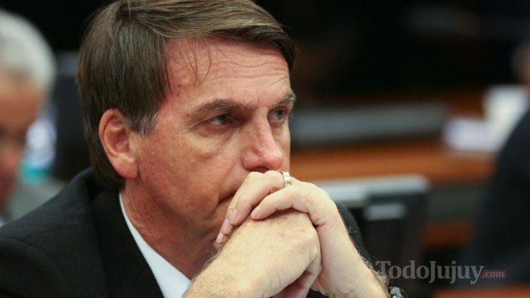 Desde Brasil, Bolsonaro manifestó su preocupación por la inestabilidad en América Latina