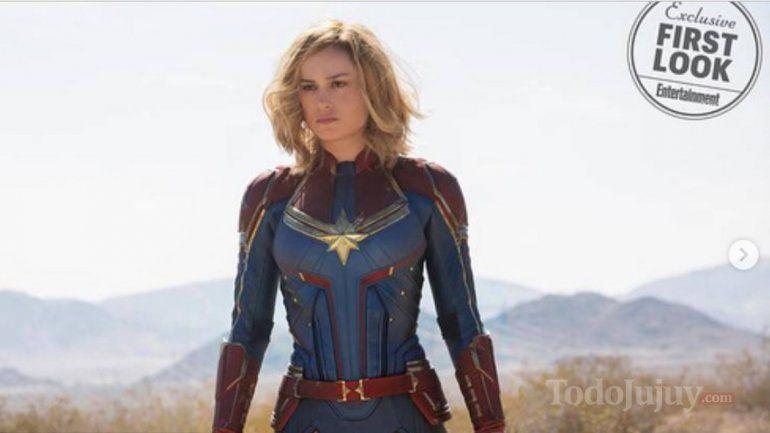 Las primeras fotos de Brie Larson en Capitana Marvel