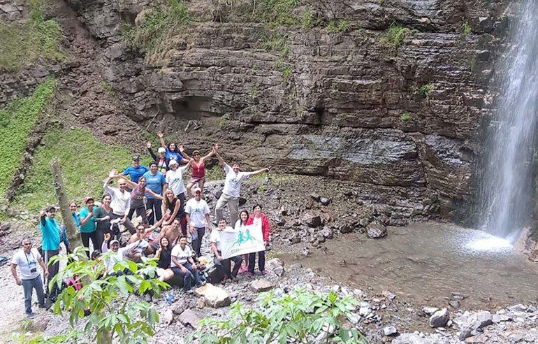 Trekking en Jujuy: La cita ahora es hacia la Cascada de los paños