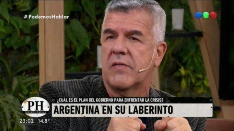 Dady Brieva: Quiero que Macri se quede hasta el final y que realmente la pasemos mal