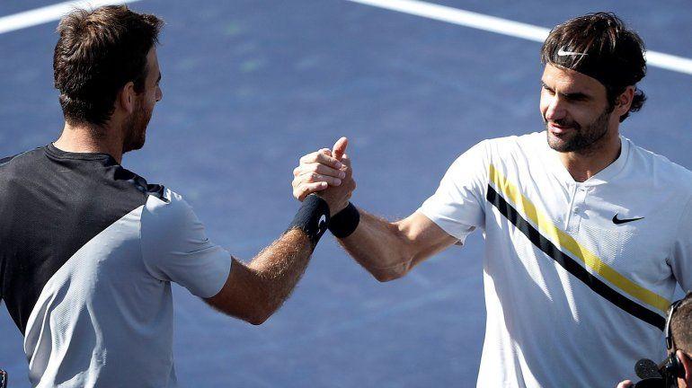 Juan Martín Del Potro ahora va por el puesto de Roger Federer: a cuántos puntos queda del dos del mundo