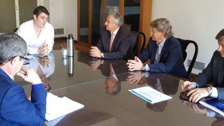 Morales inició gestiones por el bioetanol y la ampliación de Cauchari