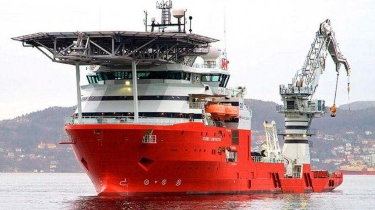 El buque Seabed Constructor deja la zona de búsqueda tras el hallazgo del ARA San Juan