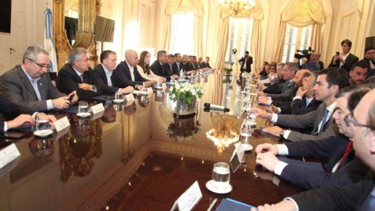 Gerardo Morales celebró el acuerdo con gobernadores por el Presupuesto 2019