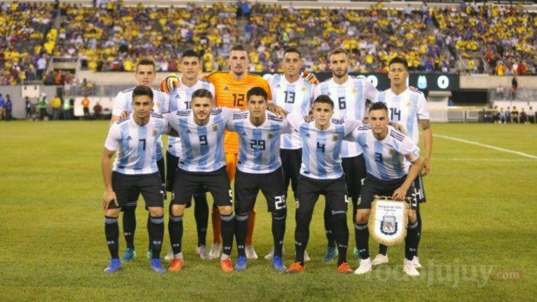 La selección Argentina pasó la prueba, pero no la Aduana