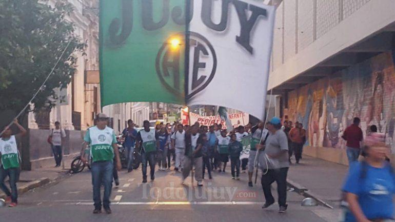 Movilizó ATE por las calles céntricas