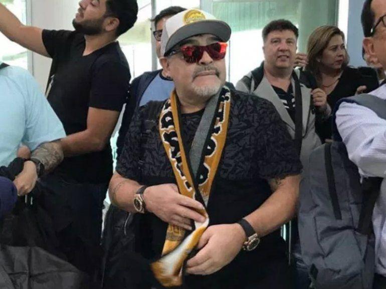 El excéntrico pedido de Maradona y el millonario contrato con el Dorados de Sinaloa
