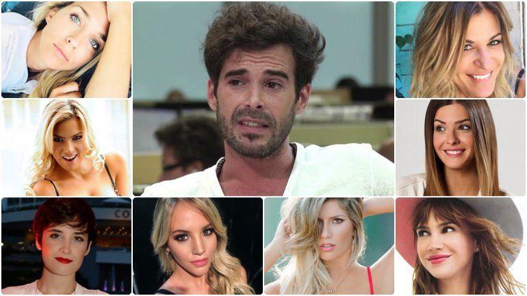 Las novias famosas de Nicolás Cabré: estallaron las redes con los memes