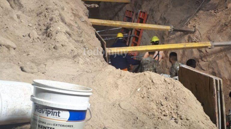 Derrumbe fatal: encontraron el cuerpo del tercer obrero fallecido