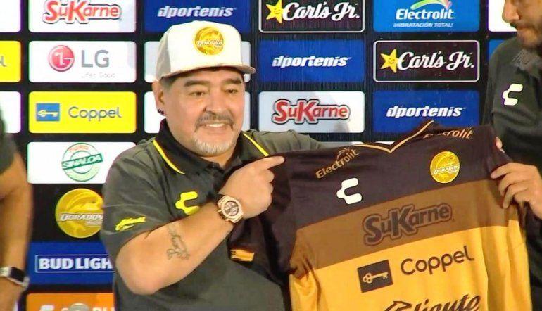 El jefe de la barra de Dorados planteó las tres demandas que le exigen a Maradona