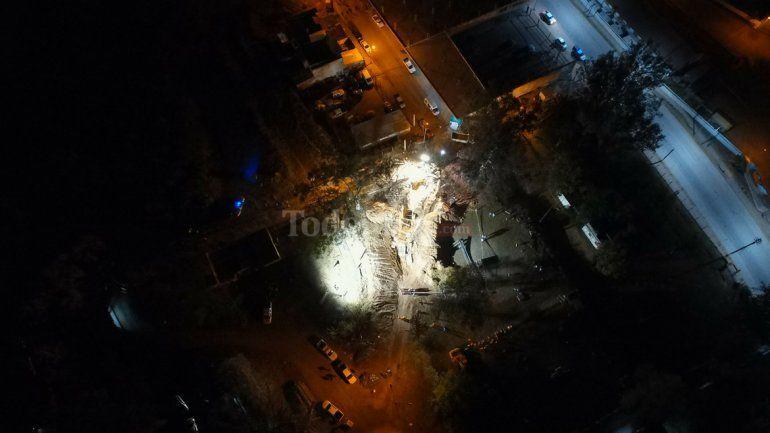 Tres detenidos por el derrumbe fatal en la obra del acueducto