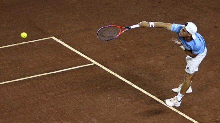 Copa Davis: Schwartzman le ganó a Giraldo y sumó el primer punto para Argentina