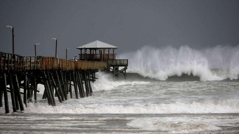 Huracán Florence: al menos 5 muertos por el azote de la tormenta en la costa este de Estados Unido