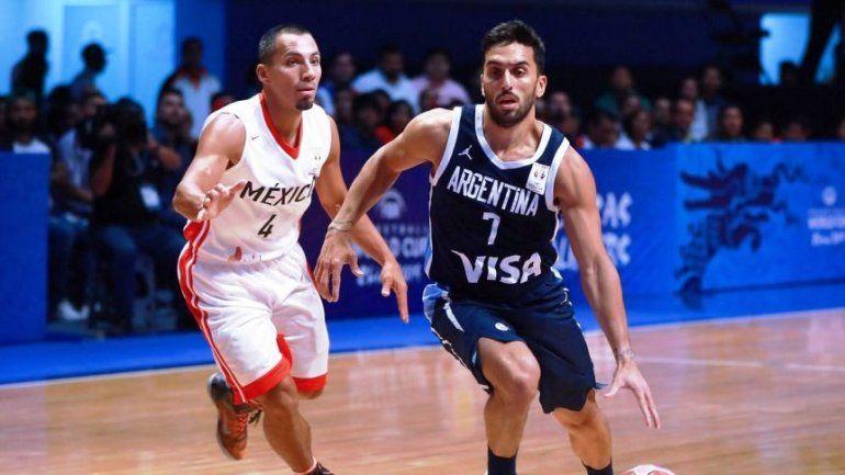 Camino al Mundial de China: Argentina venció a México 78 a 74