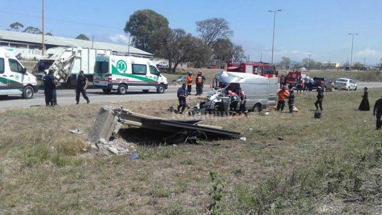 Más datos del accidente de la Autopista 66: Identificaron a las víctimas del accidente