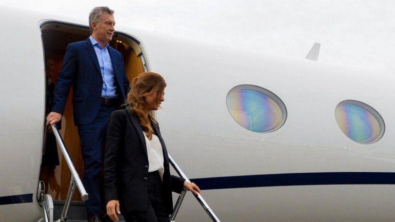 Macri está en Jujuy y recorre las  obras del aeropuerto