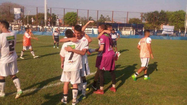 Zapla derrotó 1 a 0 a San Martín con gol de Silveira en el segundo tiempo