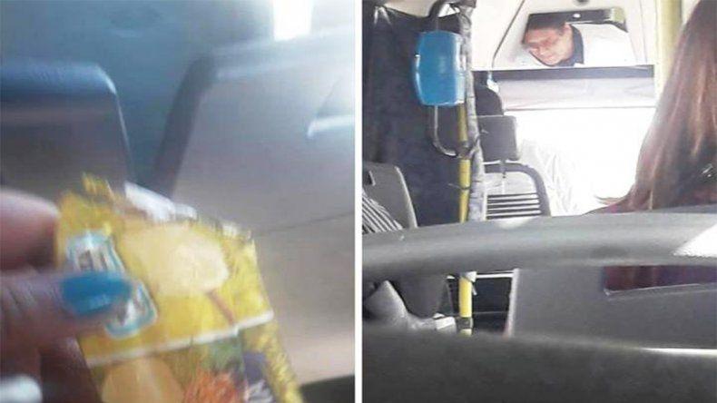 Un gesto para imitar: chofer compró helados para sus pasajeros
