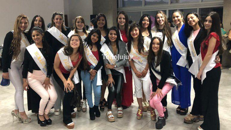 Elección Reina Provincial: con la participación de los 16 departamentos, hoy se elige a la soberana de Jujuy