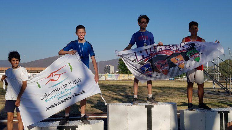 Jujeños volvieron a destacarse en el nacional de atletismo y obtuvieron 6 medallas